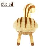 《Putia》日本兒童動物造型木製椅-松鼠(松鼠)