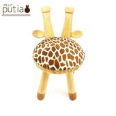 《Putia》日本兒童動物造型木製椅-長頸鹿(長頸鹿)