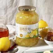 韓國蜂蜜檸檬茶(1kg/罐)UUPON點數5倍送(即日起~2019-08-29)