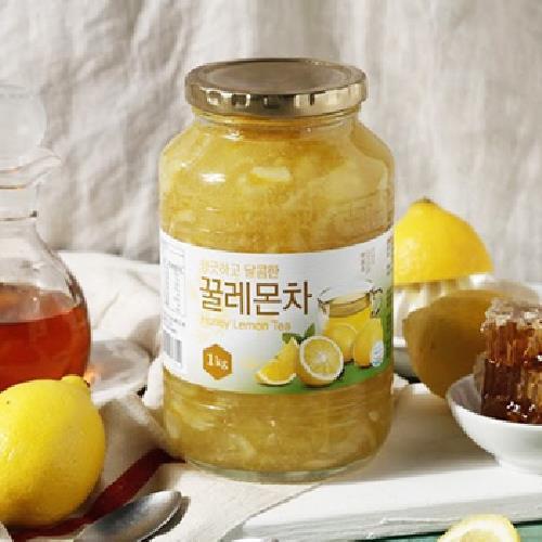 韓國蜂蜜檸檬茶(1kg/罐)-UUPON點數5倍送(即日起~2019-08-29)
