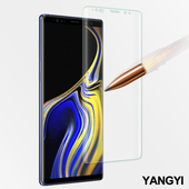 《YANG YI 揚邑》Samsung Galaxy Note 9 6.4 吋 滿版軟膜3D曲面防爆抗刮保護貼(Note 9 軟膜)