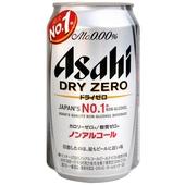 《朝日》DRYZERO無酒精啤酒風味飲料(350ml/罐)