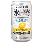 《KIRIN》麒麟冰零無酒精飲料-350ml/罐檸檬
