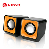 《KINYO》雷霆戰艦USB多媒體喇叭US-172