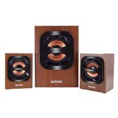 《KINYO》2.1聲道多功能木質喇叭KY-1702