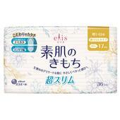 《日本大王》elis 愛麗思清爽零感衛生棉日用超薄(17cm*36片)