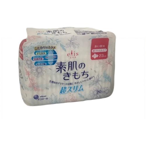 《日本大王》elis 愛麗思清爽零感衛生棉日用超薄(23cm*20片)