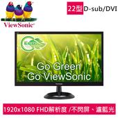 《優派 ViewSonic》VA2261-2a 22型寬螢幕