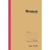 A5定頁筆記-方格(PNA-25128)