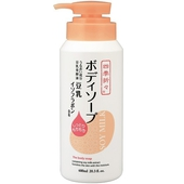 《熊野》豆乳精華保濕沐浴乳600ml/瓶 $179