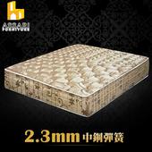 《ASSARI》完美厚緹花布強化側邊冬夏兩用彈簧床墊(單人3尺)