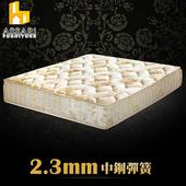 《ASSARI》典藏厚緹花布強化側邊冬夏兩用彈簧床墊(單人3尺)
