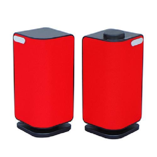 《JS》二件式立體多媒體喇叭 JY2024(紅色)