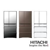 《HITACHI 日立》741公升六門電冰箱-RX740HJ(RX740HJ-X)
