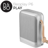 《B&O PLAY》BEOPLAY P6 無線藍芽喇叭(星光銀)
