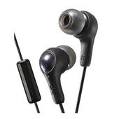 《JVC》繽紛果凍耳機麥克風 HA-FX7M(黑色)