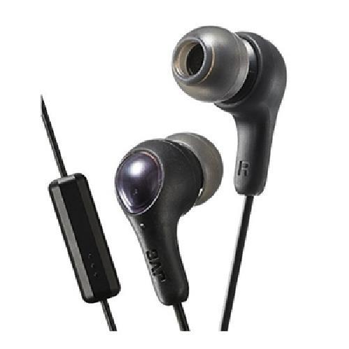 JVC 繽紛果凍耳機麥克風 HA-FX7M(黑色)