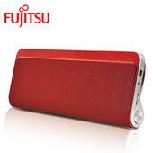 《Fujitsu富士通》藍芽音箱喇叭 免持通話 無線播放(藍芽+免持 實用度激增!)(紅色)