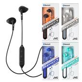 《JVC》立體聲防汗水藍芽耳機麥克風 HA-EB7BT(黑色)