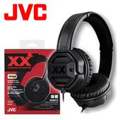 《JVC》XX系列重低音耳罩式耳機麥克風 HA-SR50X