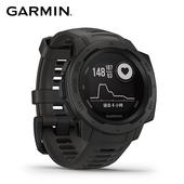 《Garmin》Instinct 軍規級堅固GPS運動心率手錶(石墨灰)