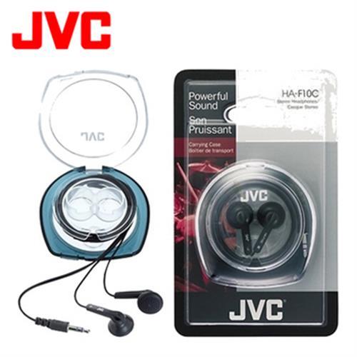 JVC 立體聲耳塞式耳機 HA-F10C