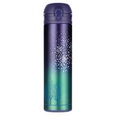 《304不鏽鋼》雙層真空彈蓋保溫杯-500ml繁星-五色可選 $299