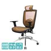 《GXG》高背全網 電腦椅 (鋁腳/摺疊扶手) TW-81X6LUA1(請備註顏色)