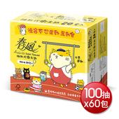 《春風》黃阿瑪卡通版抽取式衛生紙(100抽*20包*3串)