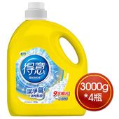《得意》高效洗衣精3000g*4瓶 $509