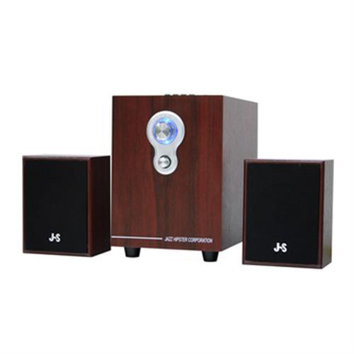 《JS》2.1聲道全木質多媒體喇叭 JY-3080