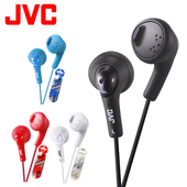 《JVC》耳塞式耳機 HA-F160(黑色)