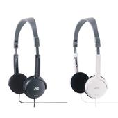 《JVC》摺疊型頭戴式耳機 HA-L50(黑色)