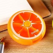 旋轉藥盒9X2.5cm水果橘子