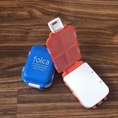 三段便攜式迷你隨藥盒4色(9.8X6.5X3cm)