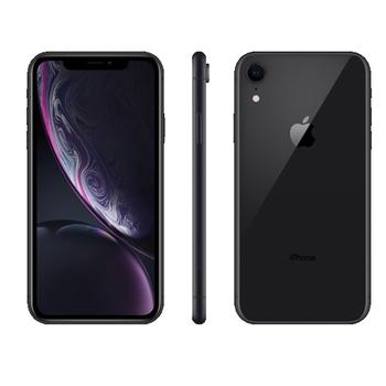 《Apple》iPhone XR 128GB 6.1吋 智慧型手機【送玻璃貼+空壓殼】(黑色)