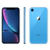 《Apple》iPhone XR 128GB 6.1吋 智慧型手機【送滿版玻璃貼+軍功殼】(藍色)