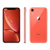 《Apple》iPhone XR 128GB 6.1吋 智慧型手機【送滿版玻璃貼+軍功殼】(珊瑚色)