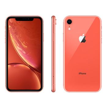 《Apple》iPhone XR 128GB 6.1吋 智慧型手機【送玻璃貼+空壓殼】(珊瑚色)
