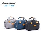 《AERFEIS》阿爾飛斯 AS-1732S帆布手提側背相機包-小(黑)