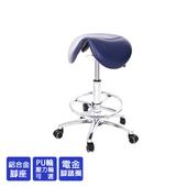 《GXG》醫療級 小馬鞍 工作椅 (電金踏圈+防刮輪) TW-81T7LUXK(請備註顏色)