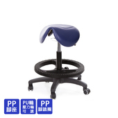 《GXG》醫療級 小馬鞍 工作椅 (塑膠踏圈/防刮輪) TW-81T7EXK(請備註顏色)
