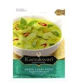《Kanokwan》泰式咖哩醬-50g(青)