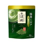 《日本辻利 TSUJIRI》抹茶拿鐵粉(御特濃茶風味-160g/包)