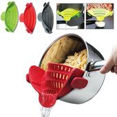 鍋邊倒菜瀝水器H1709009