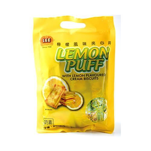 《馬來西亞 LEE》檸檬風味夾心餅(240公克)