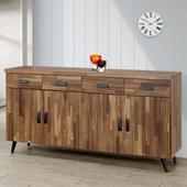 《Homelike》布里安5.3尺餐櫃(積層木)