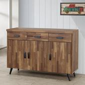 《Homelike》布里安4尺餐櫃(積層木)
