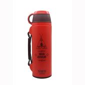 《GENKIBEAR》印地安保溫保冷壺850ml(紅)