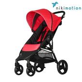 《奧地利 nikimotion》(客約)AUTOFOLD LITE 4W 抗UV 防潑水 快速收摺 手推 嬰兒推車 (經典3色)(紅色)